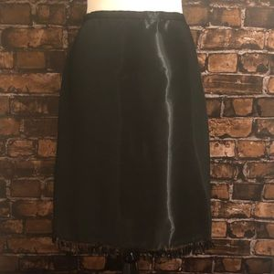 Oscar De La Renta Beaded Skirt 8
